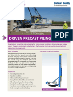 Driven Precast Piles