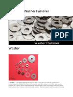 Washer Fastener