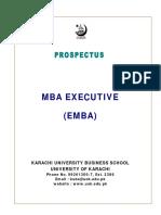 Mba Ex Prospectus