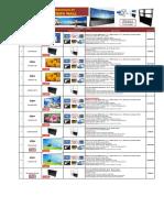 Lista de Precios - Video Wall