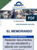 (17) Memorando e Informe