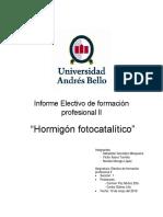 Informe Fotocataliticol