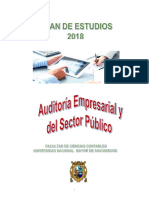 Plan Estudios Ep Auditoria-2018