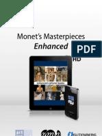 Press release - Monet's Masterpieces / Mobile