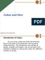 19848_15. UNIT- VI Cubes and Dice