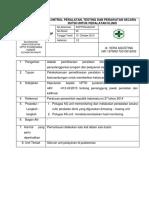 8.6.2 Ep 3 Kontrol Peralatan, Testing Dan Perawatan Secara Rutin Untuk Peralatan Klinis