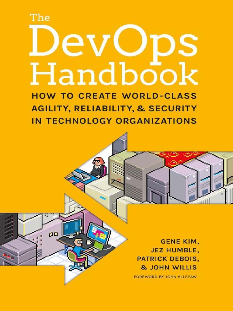 The DevOps Handbook   Information Security   Agile Software Development