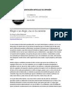 Artículo de Opinión Diego La Rota (1)