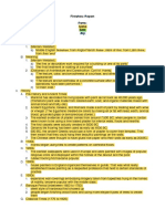 Finishes Report Outline