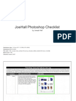 joehall photoshop checklist