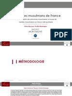 Le voile chez les Français musulmans, par l'Ifop