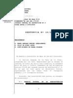 Sentencia y Voto Particular del caso Gürtel