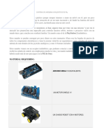 Control de Arduino Con Joystick de Ps2