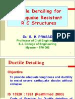 07 Ductile Detailing RC Buildings