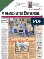 Manchester Enterprise Front Page Sept 23, 2010