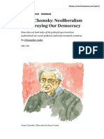 Noam Chomsky_ Neoliberalism is Destroying Our Democracy _ the Nation