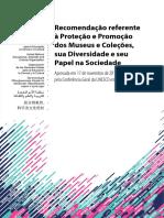 UNESCO_2015_Recomendação Referente à Proteção e Promoção Dos Museus e Coleções
