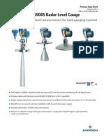 Product Data Sheet Rosemount 5900s Radar Level Gauge en 104522