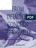Jodi Halpern - From Detached Concern to Empathy