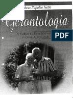 A Gerontologia e o Problema Do Envelhecimento (Netto)