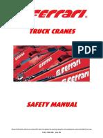 Safety Manual Ferrari Cranes