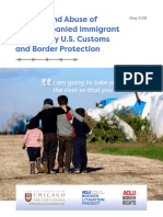 Neglect and Abuse of Unaccompanied Children by US Customs and Border Protection