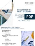 Construction Audit