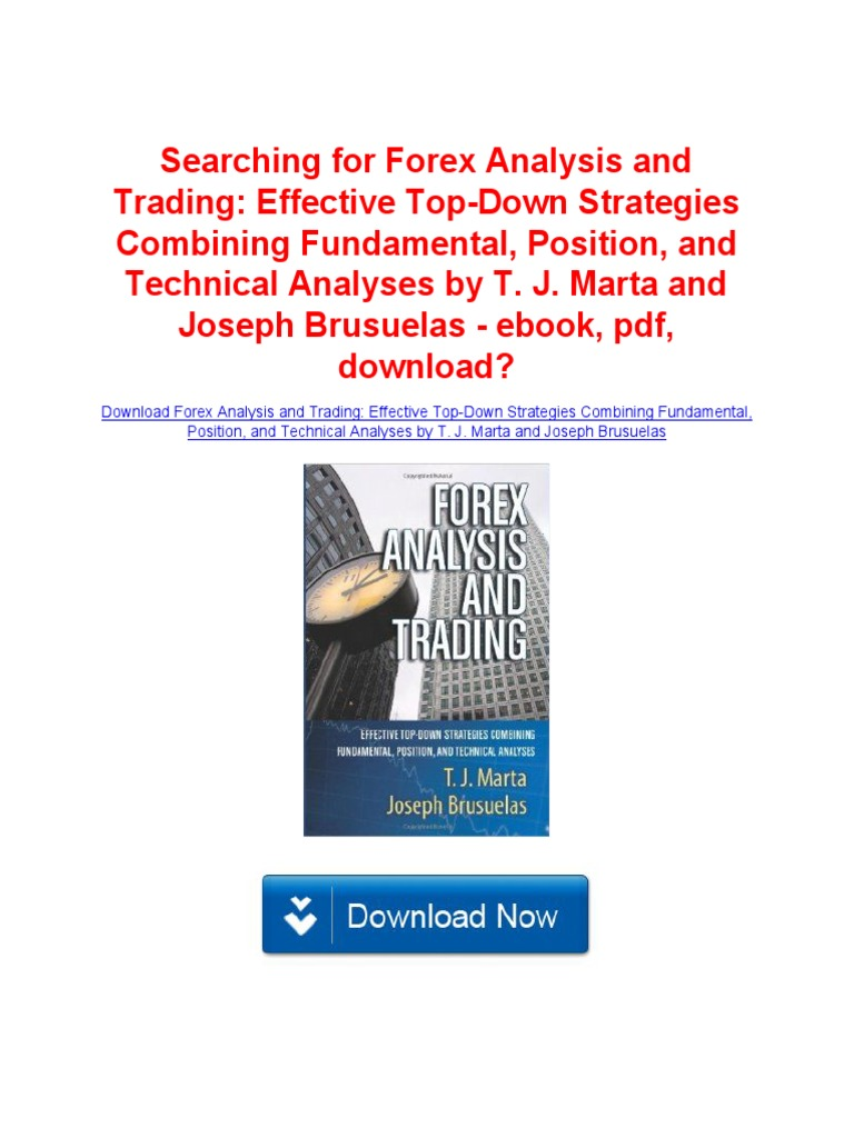 Download ebook analysis technical explained