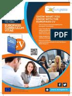 Europass Factsheets EUROPASS CV HR