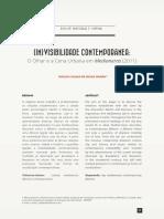 Artigo _ (in)Visibilidade Contemporanea_ o Olhar e a Cena Urbana Em Medianeras