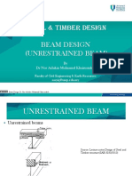 Beam Design 3 (Unrestrained Beam)