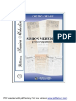 Simion Mehedinti Prozator Si Publicist