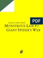 ML SpiderWeb Print