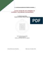 Dietrich Lorenz Daiber Las traducciones medievales de la Metafísica de Aristóteles.