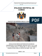 Perfil de Proyecto Integral 2000 Muro