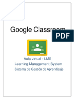 Manual de Google Classroom