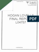 Hogan Lovells' SARS report