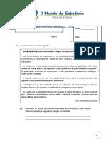 Ficha Formativa Cn7 Sismos Modelos Fosseis