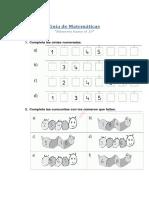 Guía de Matemáticas n°1