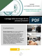 I Vantaggi Della Tecnologia 3D Nei Processi Produttivi