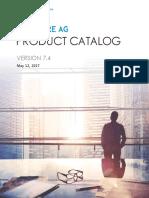 SAG Product Catalog WebMethods Edition 2017