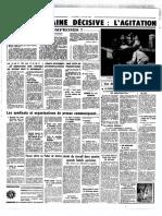 Les accords de Grenelle dans Le Figaro en mai 1968