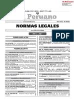 Normas Legales Del Dia 24 de Mayo Del 2017 DEL ESTADO PERUANO