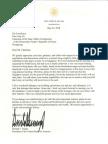 Letter to Kim Jong Un