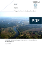 Water and Climate Adaptation Plan for the Sava River Basin