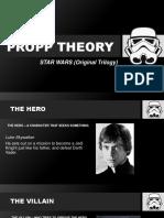 propp theory  star wars