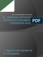 hormonas peptidicas y hormonas de crecimiento