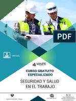 Brochure Curso Gratuito Seguridad y Salud en El Trabajo