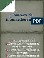 Contracte Comerciale de Intermediere În CI