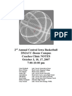 Central Iowa Clinic Notes